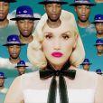 """La très sexy Gwen Stefani et Pharrell Williams dans le clip """"Spark The Fire"""", décembre 2014."""