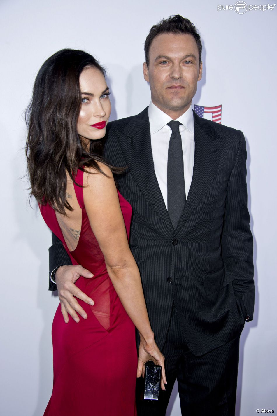 Megan fox et son mari brian austin green victimes d 39 un accident de voiture - Charlotte de turckheim et son mari ...