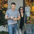 Brian Austin Green et Megan Fox à Los Angeles, le 4 décembre 2014.