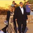 Exclusif - Invités au mariage d'Angie Everhart et Carl Ferro à Santa Monica, le 6 décembre 2014.