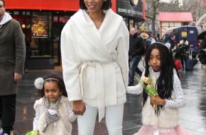 Mel B : Maman stylée avec ses filles craquantes en tutu