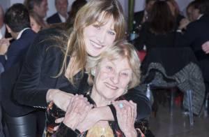 Carla Bruni : Émue et engagée sous les yeux de sa mère et de Bernadette Chirac