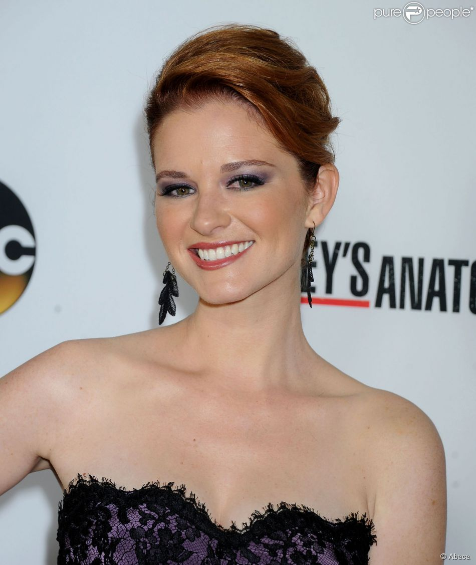 Sarah Drew à Los Angeles en septembre 2013