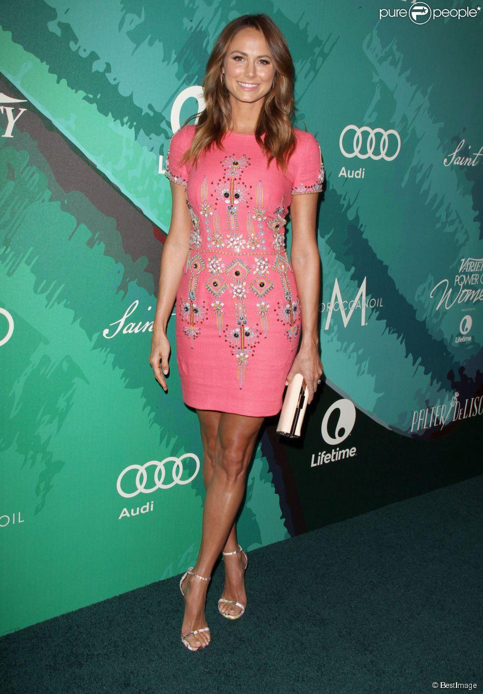 """Stacy Keibler lors de la Soirée """"Variety 2014 Power Of Women"""" à Beverly Hills, le 10 octobre 2014."""