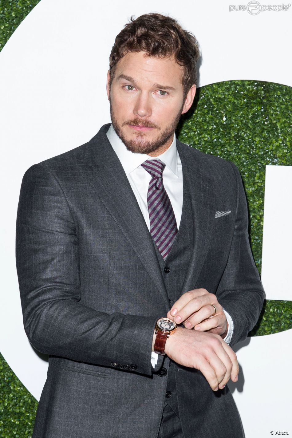 Chris Pratt attending 2014 GQ Annual Men of the Year Party held at Chateau Marmont, West Hollywood, CA, USA, on December 04, 2014. Photo by John Salangsang/BFAnyc/ddp USA/ABACAPRESS.COM05/12/2014 - Los Angeles