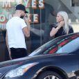 Exclusif - Sofia Richie et son petit ami Miles Canter à West Hollywood, le 29 novembre 2014.