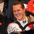 Michael Schumacher a Bangkok en Thailande le 16 decembre 2012.