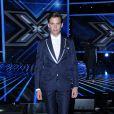 Le chanteur Mika lors de l'émission X Factor à Milan en Italie le 30 octobre 2014.