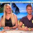 Loana et Benoît dans Les Anges de la télé-réalité 4 - Le Mag le mardi 8 mai 2012 sur NRJ 12
