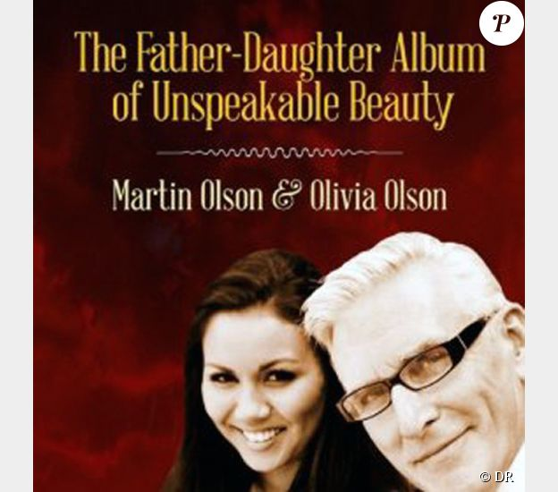 Olivia Olson et son père adoptif Martin Olson, The Father-Daughter Album of Unspeakable Beauty
