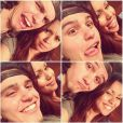 Olivia Olson, révélation de Love Actually, avec son amoureux Cash O'Mara. Instagram, 2013