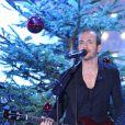 """Calogero lors de l'enregistrement de l'émission """"Vivement Dimanche"""" à Paris le 19 Décembre 2012"""