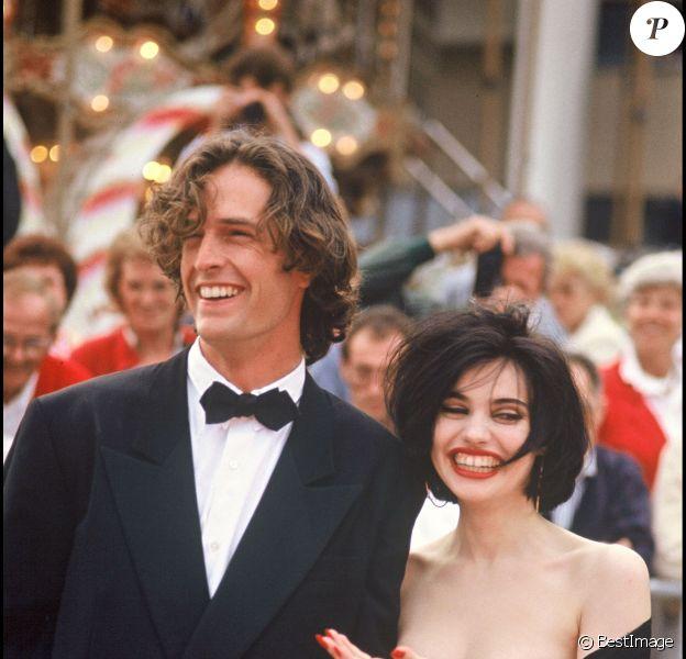 Rupert Everett et Béatrice Dalle lors du Festival de Cannes 1988