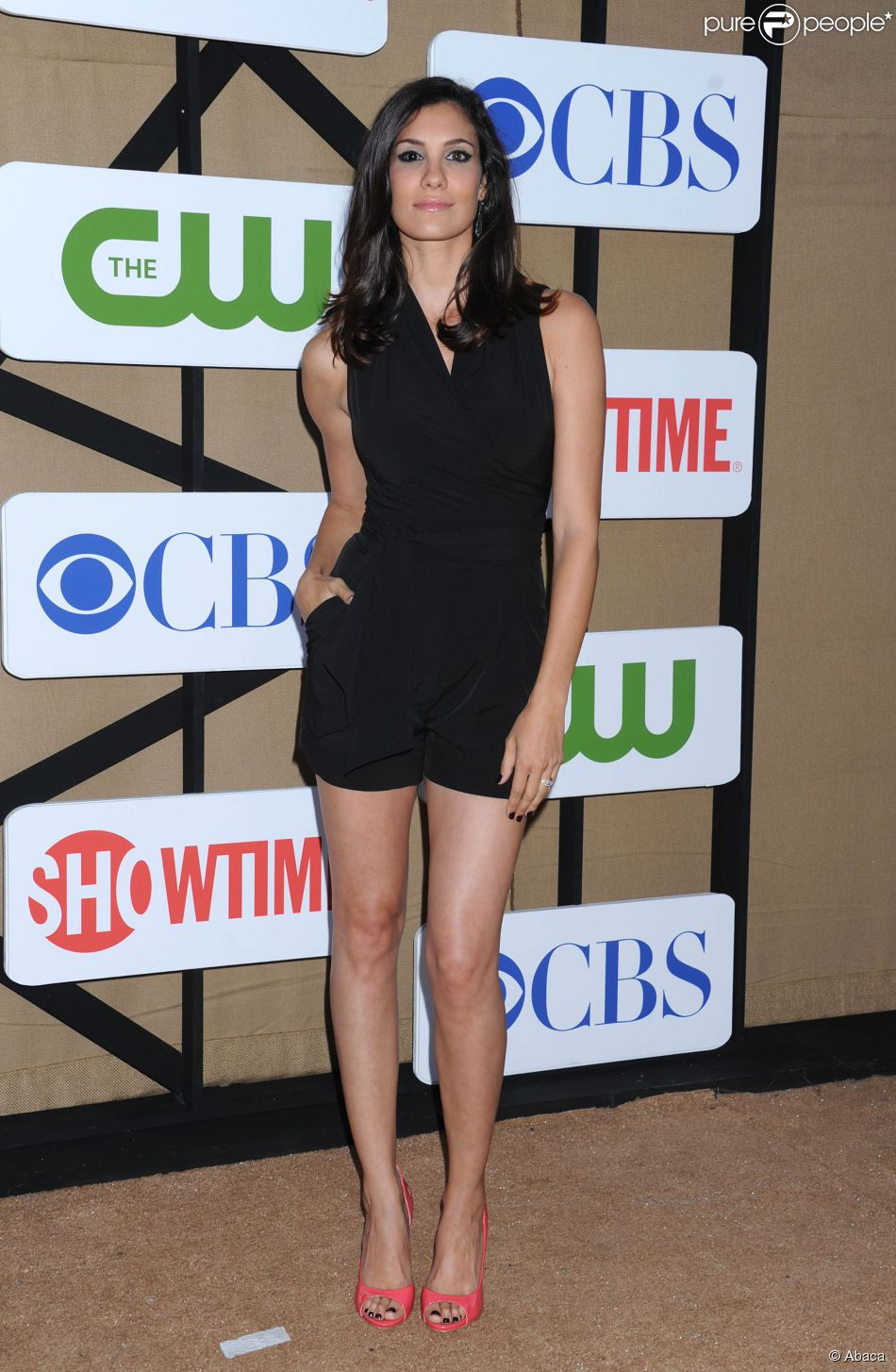 Daniela Ruah lors du CBS, Showtime and The CW 2013 Annual Summer Stars Party au Beverly Hilton Hotel de Beverly Hills, le 29 juillet 2013