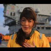Nolwenn Leroy et Sofia Essaïdi : Étonnantes recrues d'un jour d'un porte-avions