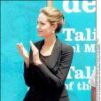 Angelina Jolie à Barcelone le 20 juin 2004.
