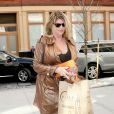 Kirstie Alley à New York, le 9 avril 2014