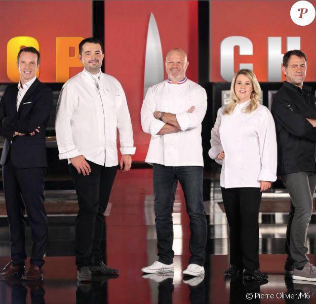 Le nouveau jury de Top Chef 2015 : Stéphane Rotenberg aux cotés des chefs Jean-François Piège, Philippe Etchebest, Hélène Darroze et Michel Sarran