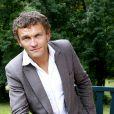Portrait de Sylvain Tesson le 25 septembre 2013 à Paris