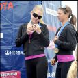 Le triathlon de L.A : Anna Kournikova