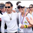 Le triathlon de L.A : J-Lo et son époux