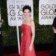 Julianna Margulies lors de la 72e cérémonie annuelle des Golden Globe Awards à Beverly Hills, le 11 janvier 2015.