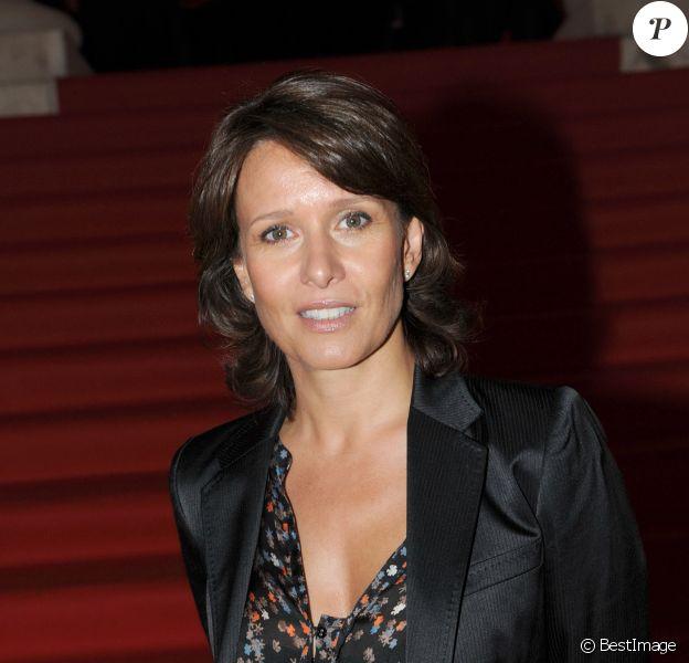 Carole Rousseau - Cocktail de rentrée de TF1 au Palais Brogniart à Paris en 2010.