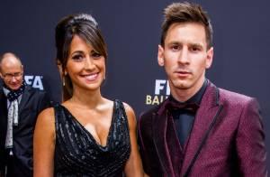 Ballon d'or 2014 : Lionel Messi et Sergio Ramos élégants avec leurs belles