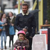 David Beckham et Harper : Séquence adorable en plein Londres
