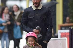 David Beckham et Harper : Séquence adorable en plein Londres
