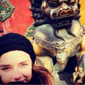 Pauline Ducruet, fille de Stéphanie de Monaco : Charmante touriste en Chine...