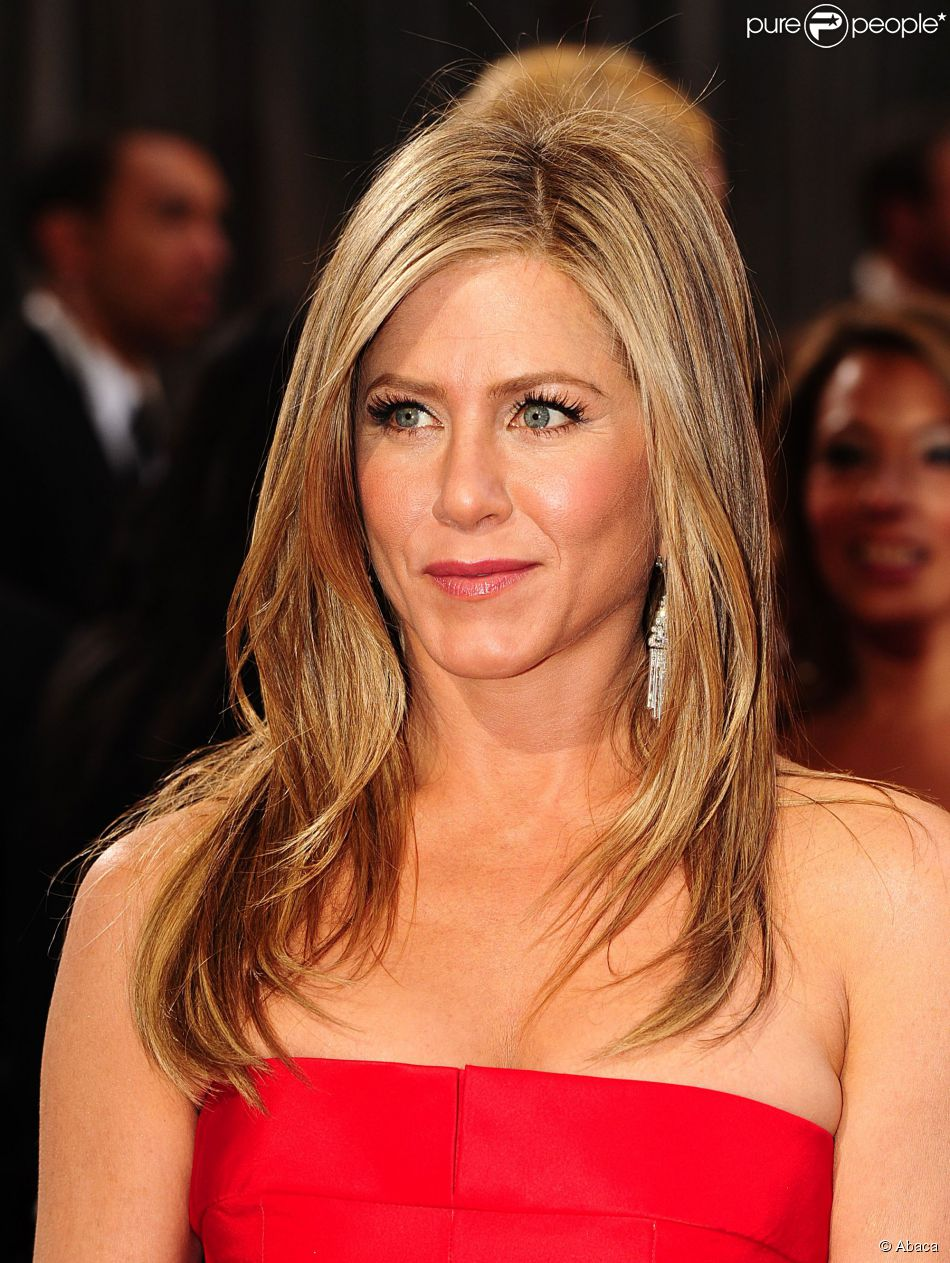 Jennifer Aniston aux Oscars 2013.