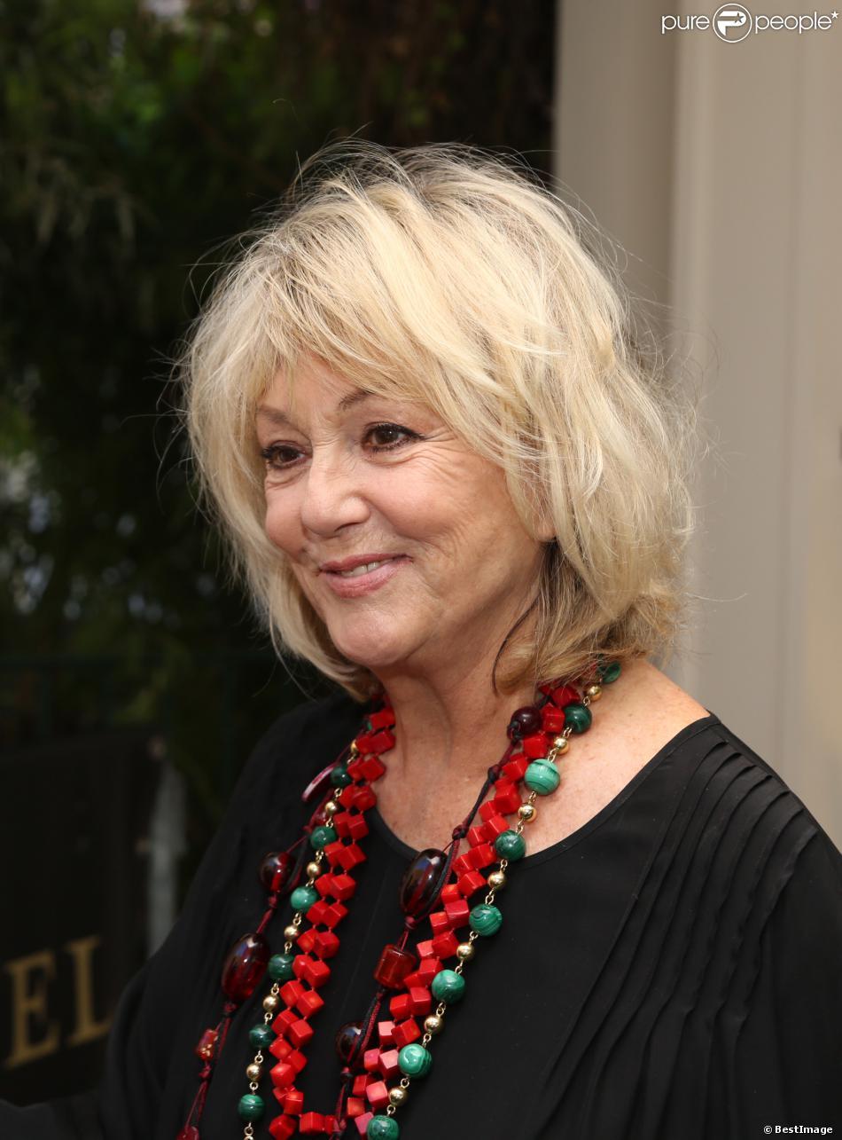 L'actrice Mylène Demongeot arrive à l'enregistrement de l'émission 'Vivement Dimanche'. A Paris, le 4 septembre 2013.