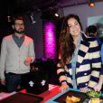 Lola Dewaere à la soirée Street Food Party au Loft du Louvre à Paris, le 16 janvier 2015