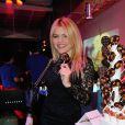Celyne Durand à la soirée Street Food Party au Loft du Louvre à Paris, le 16 janvier 2015