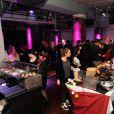 La soirée Street Food Party au Loft du Louvre à Paris, le 16 janvier 2015