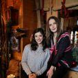 Vanessa Guide et Ana Girardot - Rendez-vous lors du 18ème festival international du film de comédie de l'Alpe d'Huez, le 17 janvier 2015.
