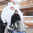 """Kyan Khojandi pour le film """"Les Nouveaux Héros"""", le 17 Janvier 2015, lors du 18éme festival international du film de comédie de l'Alpe d'Huez"""