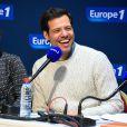 Marina Fois et Laurent Lafitte pour 'Petit Dimanche entre Amis', sur Europe 1, le 17 Janvier 2015, lors du 18éme festival international du film de comédie de l'Alpe d'Huez