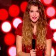 La jolie Manon Palmer dans The Voice 4, le samedi 17 janvier 2015, sur TF1