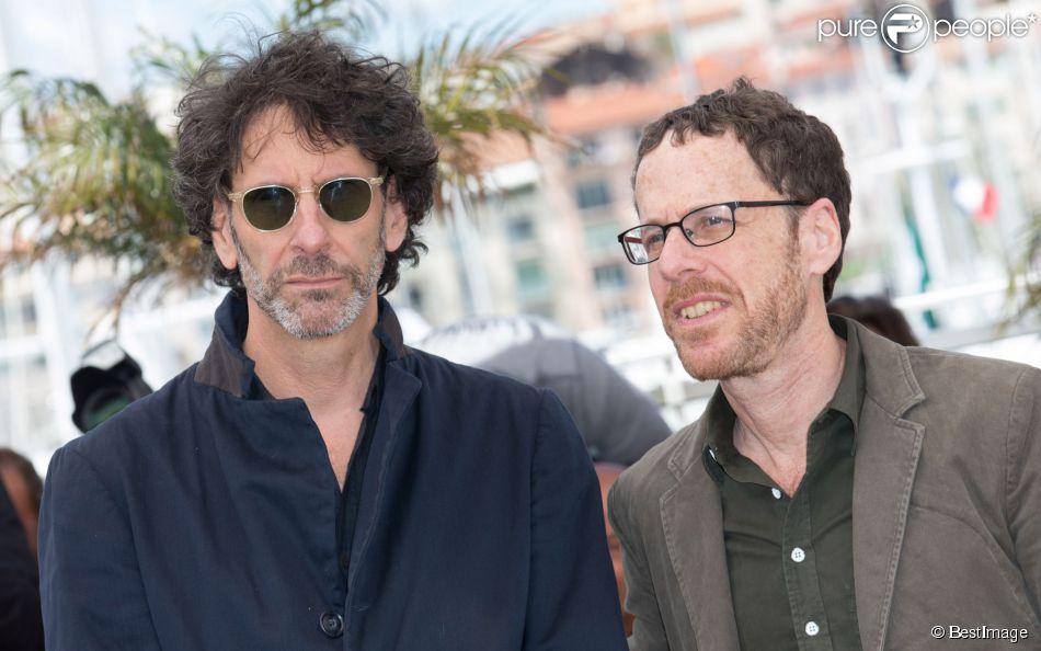 Joel Coen, Ethan Coen lors du 66e festival du film de Cannes le 19 mai 2013.