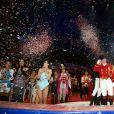 Soirée de gala du 39e Festival du cirque de Monte-Carlo, le 20 janvier 2015 sous le chapiteau de Fontvieille.
