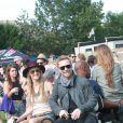 Ronan Keating et sa petite-amie Storm Uechtritz lors du Isle of Wight festival 2014, à Isle of Wight, le 15 juin 2014.
