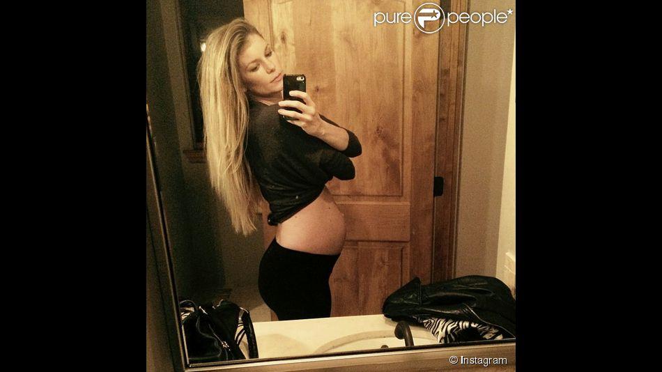 Marisa Miller attend un deuxième enfant : un petit garçon ! Photo postée sur son compte Instagram le 21 janvier 2015