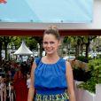 Jenny Del Pino au Cap d'Agde le 2 juillet 2014.