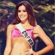 Paulina Vega, Miss Univers 2014, en bikini à Miami en janvier 2015.