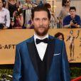 Matthew McConaughey - 21e édition des Screen Actors Guild Awards à Los Angeles le 25 janvier 2015