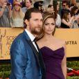 Matthew McConaughey et Camila Alves - 21e édition des Screen Actors Guild Awards à Los Angeles le 25 janvier 2015