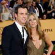 Jennifer Aniston et Justin Theroux - 21e édition des Screen Actors Guild Awards à Los Angeles le 25 janvier 2015