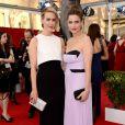 Sarah Paulson et Amanda Peet - 21e édition des Screen Actors Guild Awards à Los Angeles le 25 janvier 2015